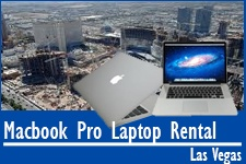Macbook Pro Laptop Las Vegas Rentals
