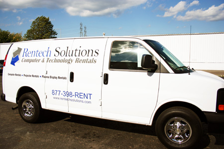 Rentech is ready to deliver rental equipment to your next event!!